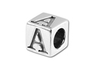 5.5mm Pewter Alphabet Letter Beads