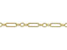 14K Gold - ' Long & Short'  Chain
