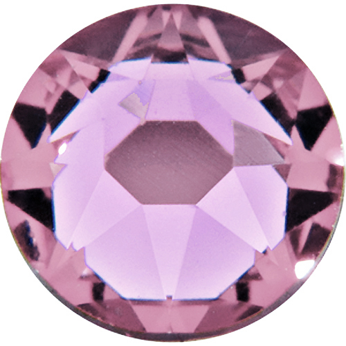 1440  Light Amethyst - 2058 Swarovski SS12 Glue On Flat Backs  10gr)