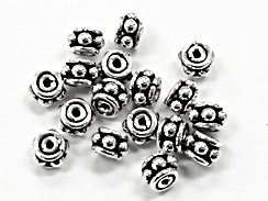 6mm Bali Spacer Bead