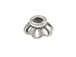 6.8mm Sterling Silver Bead Cap