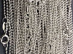 16-inch Sterling Silver 1.5mm Bead Chain