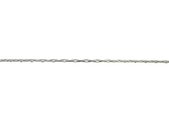 Sterling Silver Italian Beading Chain, 0.66m Round, 25 Feet Spool