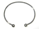 7-inch SILVER PLATED Cuff Bangle Bracelet fits Pandora beads with at least 3.2mm Hole. Bulk Pack of 150