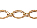 Oval Link Chain: Rose Gold Plated