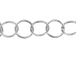 Sterling Silver 5.5mm Round Link Chain