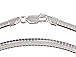 18-inch Sterling Silver 4mm Cubetto Omega Chain