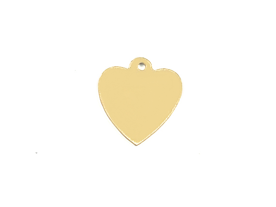 15mm Gold-Filled Heart Charm