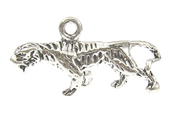 Sterling Silver Tiger Charm