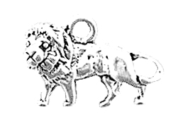 Sterling Silver Lion