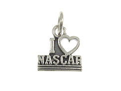 Sterling Silver I Love Nazca Charm with Jumpring