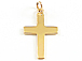 16mm Gold-Filled Cross Charm with Ring