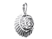 Sterling Silver Indian Head Charm