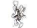 Sterling Silver Fairy On Branch Charm