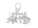 Sterling Silver Little Sister Charm with Jumpring