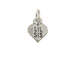 Sterling Silver Heart with Lil Sis Charm with Jumpring