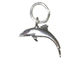 Sterling Silver Dolphin Charm with Jumpring