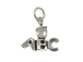 Sterling Silver Apple with ABC Charm with Jumpring