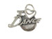 Sterling Silver I Love Dance Charm with Jumpring