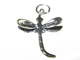 Sterling Silver Dragonfly Charm with Jumpring