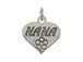 Sterling Silver Heart with Nana Charm with Jumpring