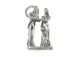 Sterling Silver Bride & Groom Charm with Jumpring