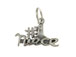 Sterling Silver #1 Niece Charm with Jumpring