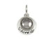 Sterling Silver DAWG Bowl Charm with Jumpring