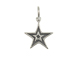 Sterling Silver Double Star Charm with Jumpring