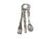 Sterling Silver Fork, Spoon & Knife 3 Piece Charm with Jumpring