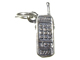Sterling Silver Cell Phone Charm with Jumpring