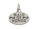 Sterling Silver Maid Of Honor Charm with Jumpring
