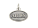 Sterling Silver Aries Zodiac Pendant Charm with Jumpring