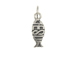 Sterling Silver Jesus Fish Charm with Jumpring