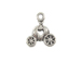 Sterling Silver Cinderella' s Coach Charm