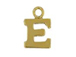14K Gold Filled 8mm  Alpahbet Block Charm -  E