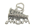 Sterling Silver Cheerleader Mom Charm with Jumpring