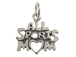 Sterling Silver All Sports Mom Charm with Jumpring