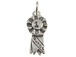 Sterling Silver 1st Place Ribbon Charm with Jumpring