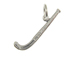 Sterling Silver Field Hockey Stick Charm with Jumpring