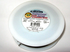 1000 Feet - Beadalon 49 Strand Wire .024 inch Bright