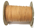 Tan -  1mm Waxed Cotton Cord (Made in USA) 144 Yard Spool