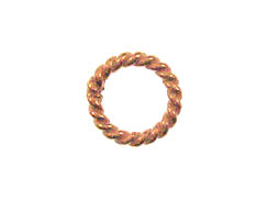8.4mm Bright Copper Floater Ring