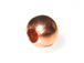 4mm Seam Large Hole Copper Bead with Anti-Tarnish Finish