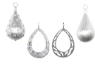 Sterling Silver Drops & Pendants