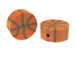 Basketball Sports Beads Bulk Pack of 100