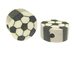 Soccer Ball Sports Beads Bulk Pack of 100