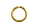 Heavy Duty Brass Plated Jump Ring