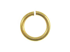 9mm Brass Plated Jump Ring  *VERY SPECIAL PRICE* (Bulk Pack of 1