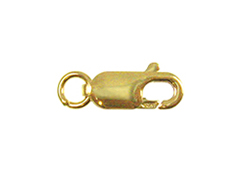 14K Gold-Filled 11x4mm Lobster Claw Clasp with Jump Ring